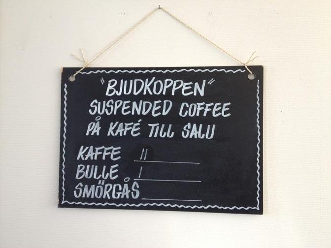Suspenderat kaffe