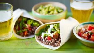 mexikansk burrito