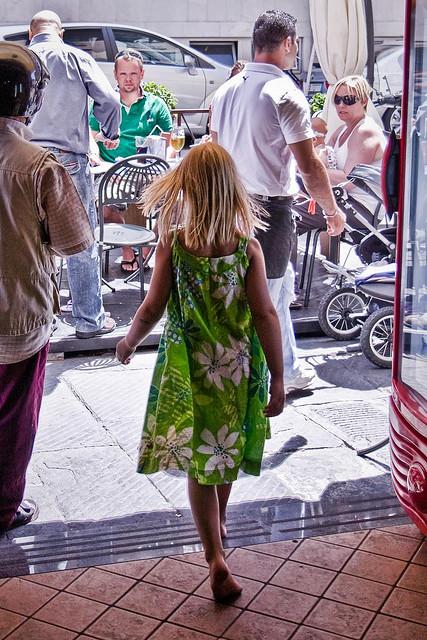 Utomlands med barn - italien