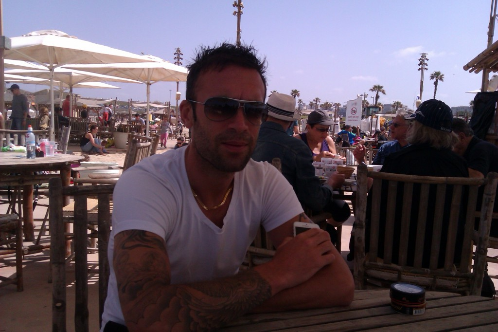 rade prica - frukost på tel baruch beach